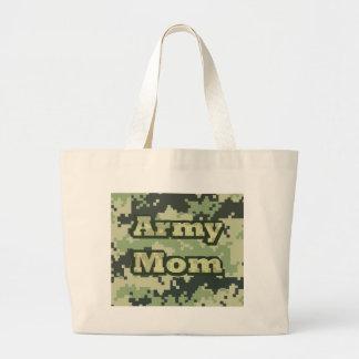 Army Mom Jumbo Tote Bag