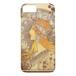 Art Nouveau Alphonse Mucha Zodiac iPhone 7 case