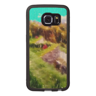 Art of some nature wood phone case