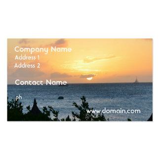 Aruba Setting Sun Business Card