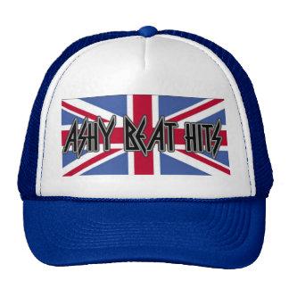 Ashy Beat Hits Blue BRITTISH TRUCKER HAT