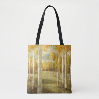 Aspens in Autumn Tote Bag