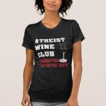 Atheist wine club t-shirt