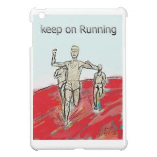 athletes, running , marathon race rdesign iPad mini cover
