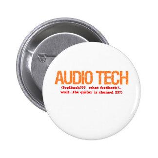 Audio Tech Description 2 Inch Round Button