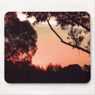 Australian Bush Sunset Mousepad