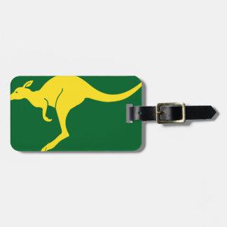 Australian Flag Tag For Bags