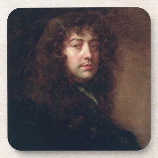 Autoportrait, 1665-70 (huile sur la toile) sous-bock