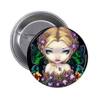 """Autumn Crocus Fairy"" Button"