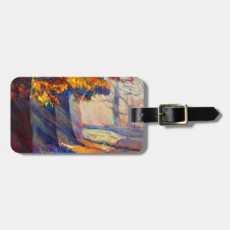 Autumn Forest Tag For Bags