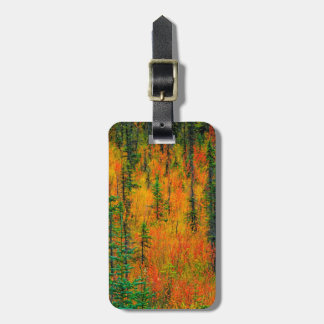 Autumn in a meadow bag tag