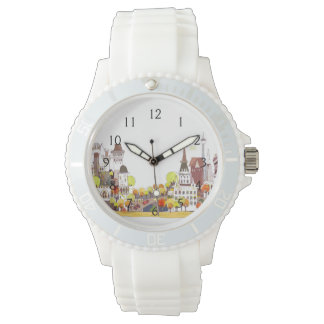 Autumn In The City Wrist Watches