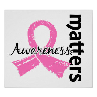 Awareness Matters 7 Breast Cancer Poster