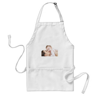 Baby Getting a Kiss! Standard Apron