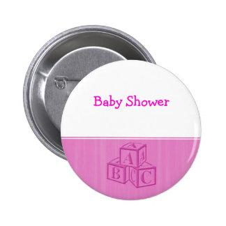 Baby Shower 2 Inch Round Button