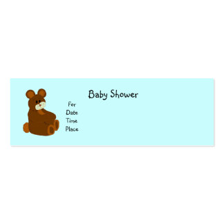 Baby Shower Cards Mini Business Card