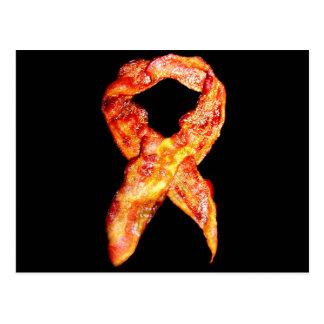 Bacon Awareness Ribbon Postcard