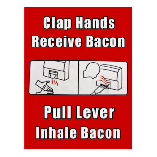 Bacon Dispenser II Postcard