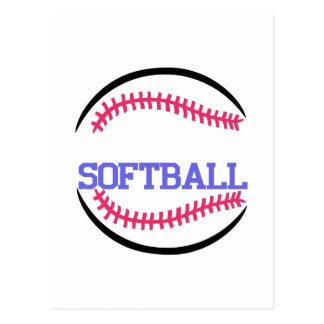 Baisse nommée du base-ball cartes postales