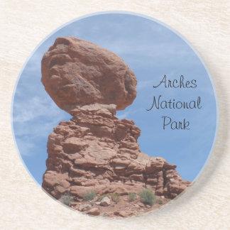 Balanced Rock- Arches National Park Drink Coaster