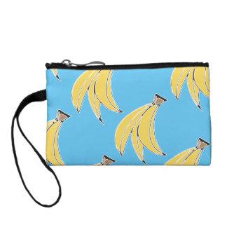 Banana Print Clutch Coin Wallet