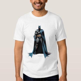Batman cape over one side tees
