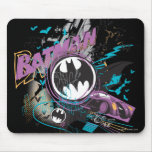 Batman Gotham Skyline Sketch Mouse Pad