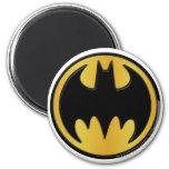 Batman Symbol | Classic Round Logo 2 Inch Round Magnet