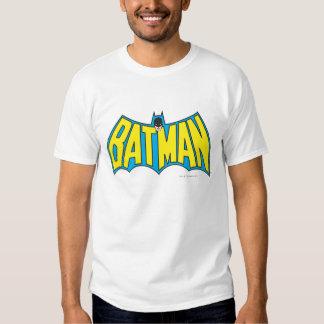 Batman | Vintage Yellow Blue Logo Shirts