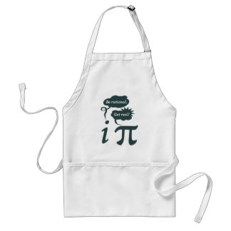 be rational! get real! standard apron