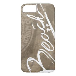 Beach Script Handwritten iPhone 7 iPhone 7 Case