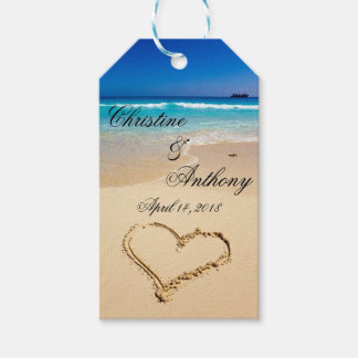 Beach Wedding Favor Tags | Pack of Gift Tags