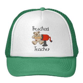Bear and Sharpener Preschool Teacher Trucker Hat
