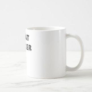 Beat Boxer Classic White Coffee Mug