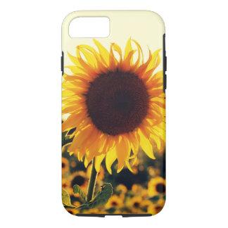 Beau coque iphone de fleur de nature de tournesol coque iPhone 7
