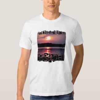 Beau lever de soleil de plage tee shirts