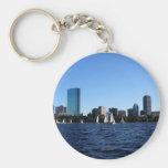 Beauté de porte - clé de Boston Porte-clé Rond