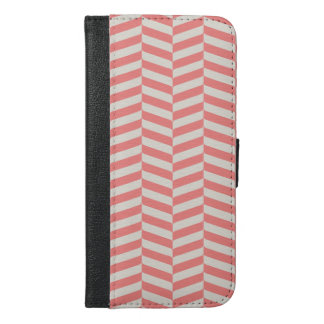 Beautiful warm pink beige zigzag geometric pattern