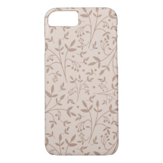 Beige pattern iPhone 7 case