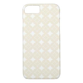 Beige shippo pattern iPhone 7 case