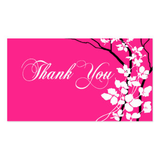 Bella Thank You Gift Tag Special Thanks Business Card