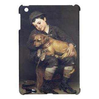 Best Friends Dog and Boy iPad Mini Covers