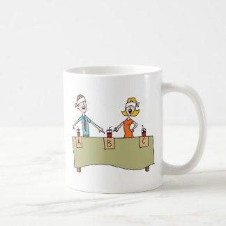Beverage Blind Taste Test Classic White Coffee Mug