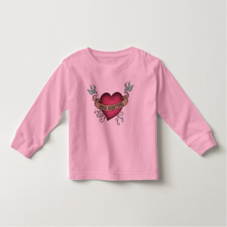 Big Sister Tattoo Heart T-shirts