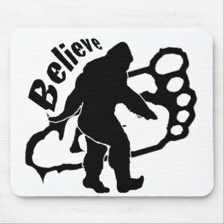 Bigfoot Believe Mouse Pad