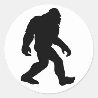 Bigfoot Round Sticker