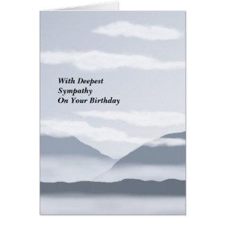 Birthday Sympathy Card