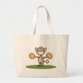 Biscuits de singe sac en toile jumbo