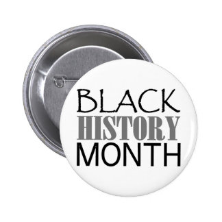 Black History Month 2 Inch Round Button