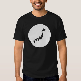 "Black Japan tee-shirt ""chart"" Tshirt"